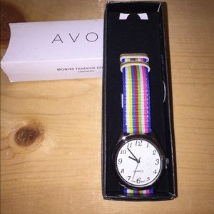 Avon rainbow watch🌹